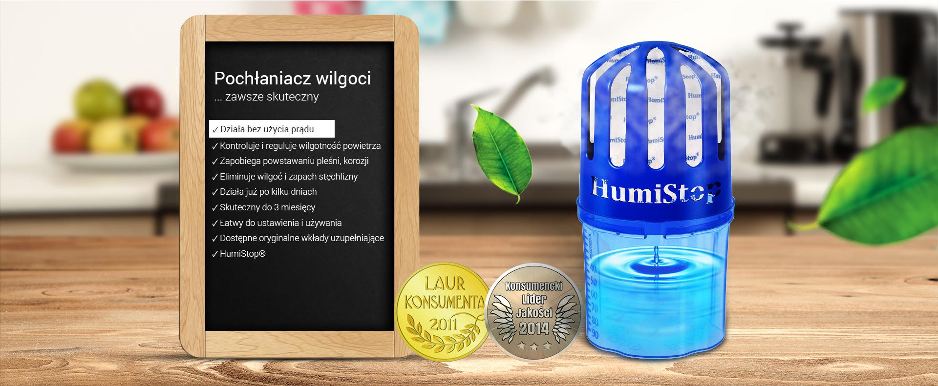 Humistop | Pochłaniacz wilgoci, Usuwają nadmiar wilgoci. Koniec z zaparowanymi szybami